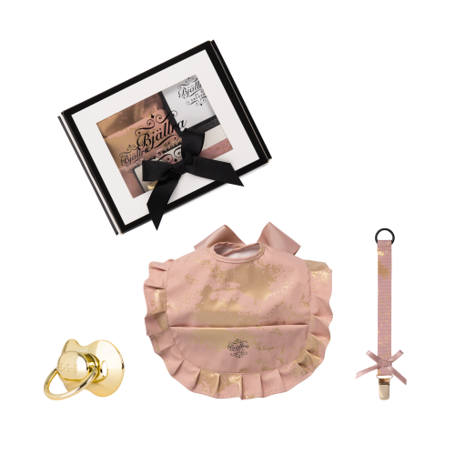 Gift Set Box, Pink Golden Collection