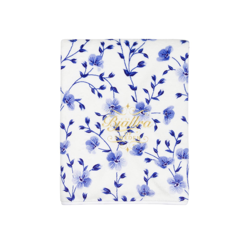 Pearl Velvet Blanket Summer Bloom