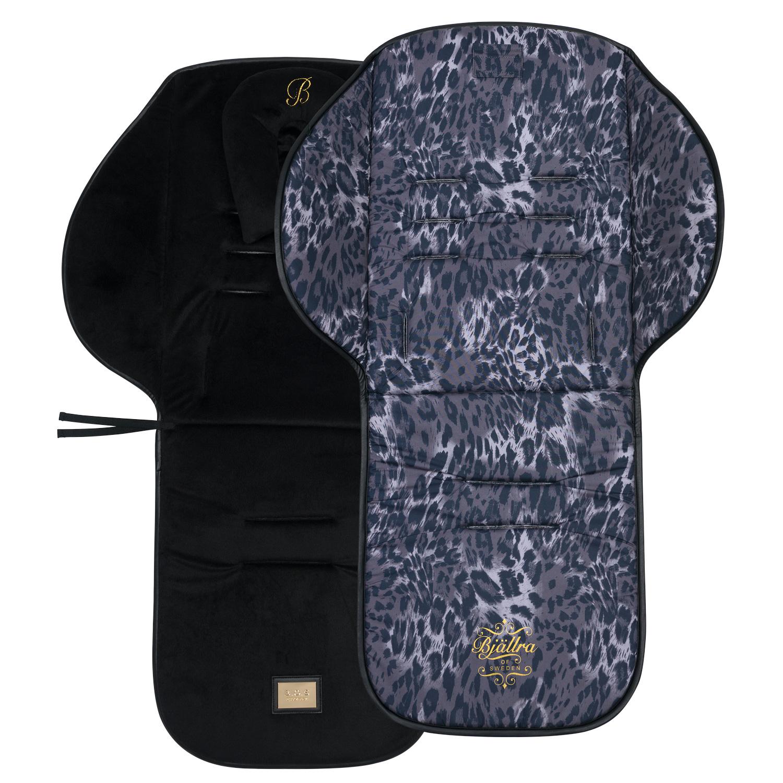 Leopardfärgad sittdyna - Gör barnvagnen extra bekväm för barnet | Bjällra of Sweden