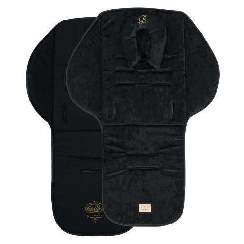 Seat liner, Black Velvet