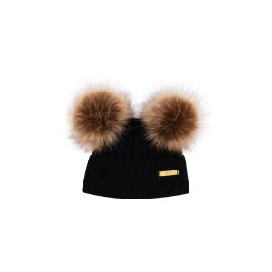 Winter hat 0-6 mon Black