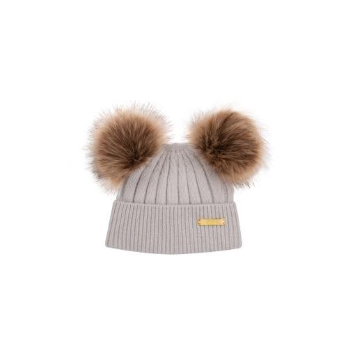 Winter hat 0-6 mon Grey