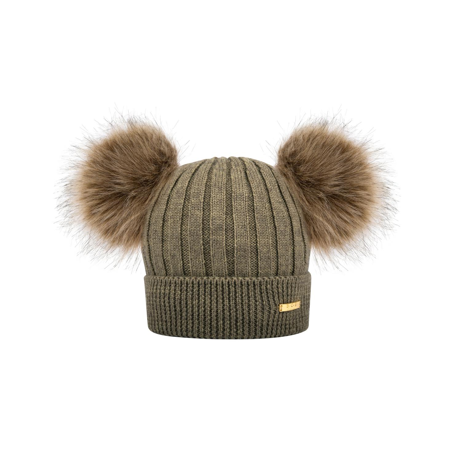Knitted winter hat  Khaki