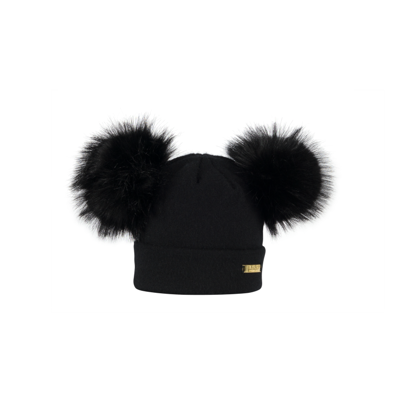 Winter hats, All Black