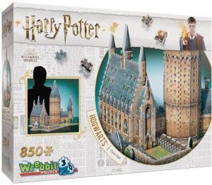Pussel Harry Potter 3D Hogwarts Great Hall 850 bitar