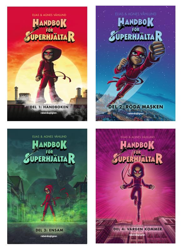 Handbok för superhjältar - 4-pack