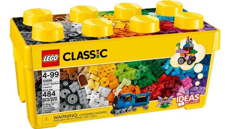 Lego LEGO® Fantasiklosslåda mellan (10696)