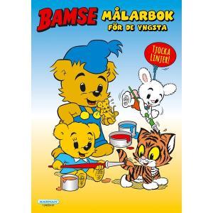 Målarbok med Bamse