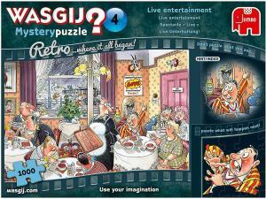 Wasgij-pussel, Mystery Retro 4, 1000 bitar