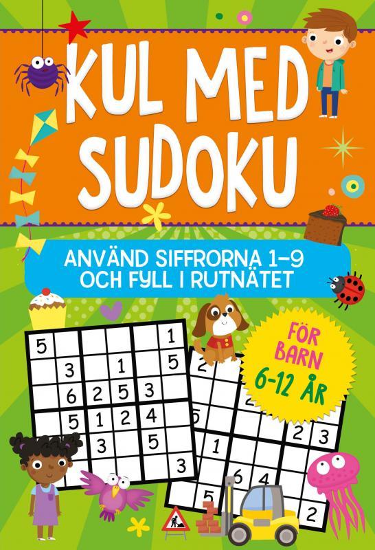Kul med Sudoku : Använd siffrorna 1-9 och fyll i rutnätet
