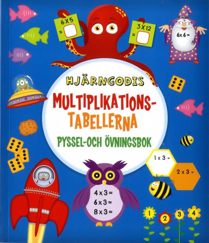 Hjärngodis - Multiplikationstabellen