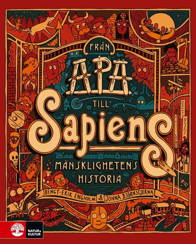 Från apa till sapiens : Mänsklighetens historia