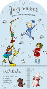 Mätsticka - Jag växer : Astrid Lindgrens sagovärld