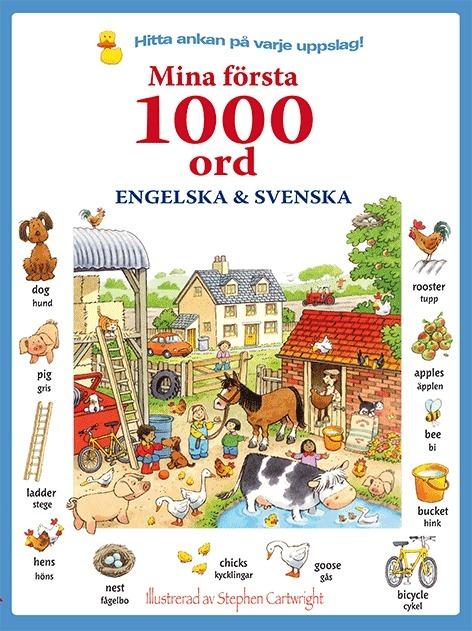Mina första 1000 ord: engelska & svenska