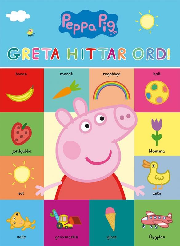 Greta Gris: Greta hittar ord!