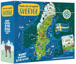 Pussla, lär och upptäck Sverige