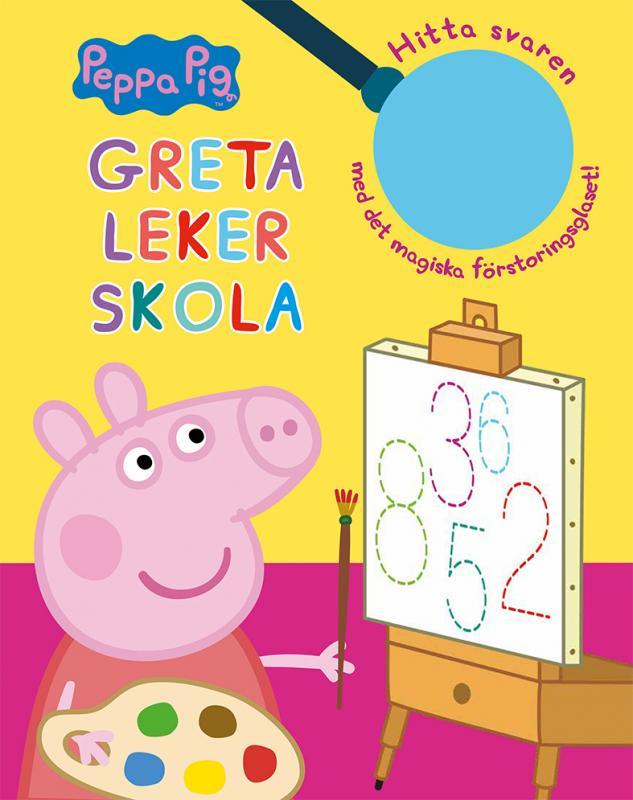 Greta Gris: Greta leker skola