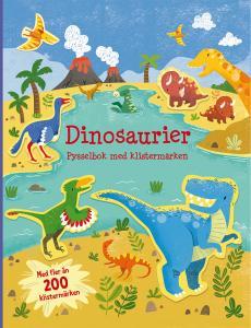 Dinosaurier : pysselbok med klistermärken
