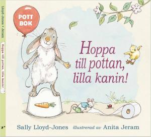 Hoppa till pottan, lilla kanin - pekbok