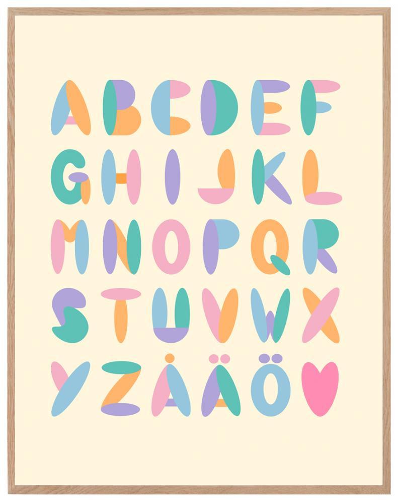 Poster - Alfabetet
