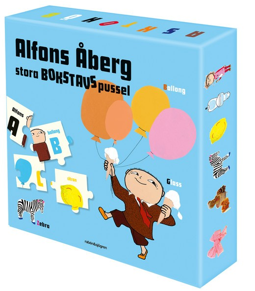 Alfons Åberg stora bokstavspussel