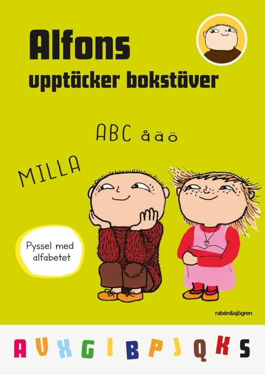Alfons upptäcker bokstäver