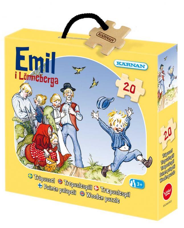 Askpussel Emil i Lönneberga (20 bitar)