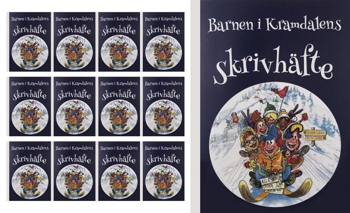 15 stycken Barnen i Kramdalens skrivhäfte
