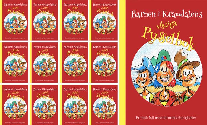 15 stycken - Barnen i Kramdalens viktiga pysselbok