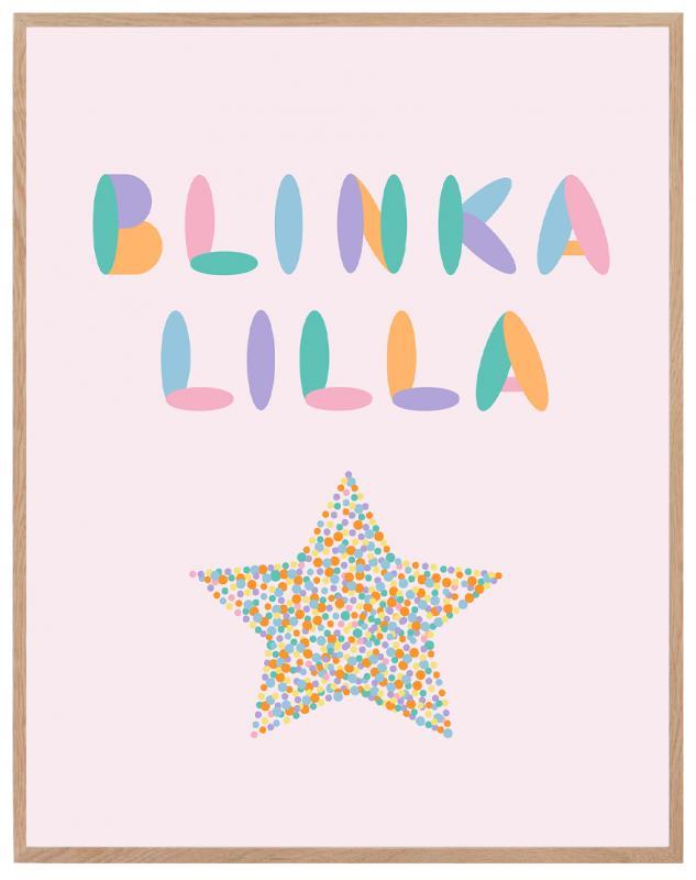 Poster - Blinka lilla
