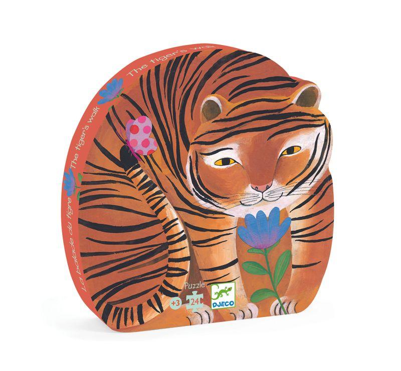 Pussel 24 bitar - Tiger's walk