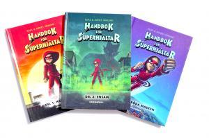 Handbok för superhjältar - 3-pack