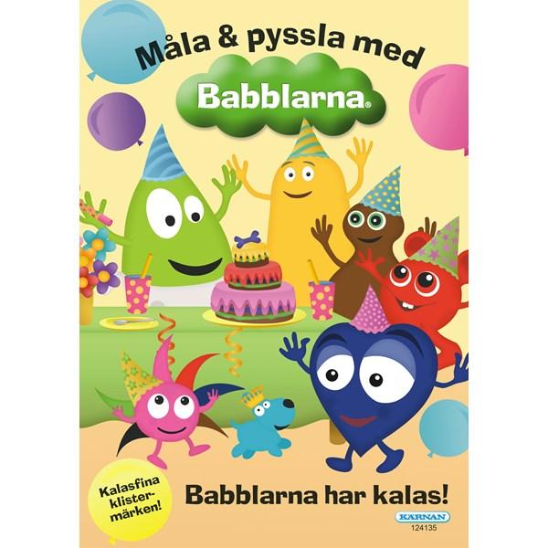 Målarbok med Babblarna