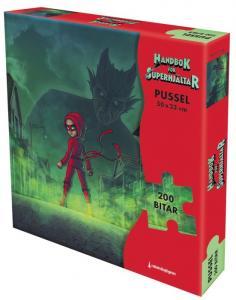 Handbok för superhjältar Pussel 200-bitar