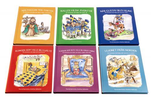 Sagolikt paketpris - 6 böcker