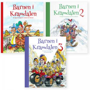 Barnen i Kramdalen 1, 2 och 3 - Succéböckerna till paketpris