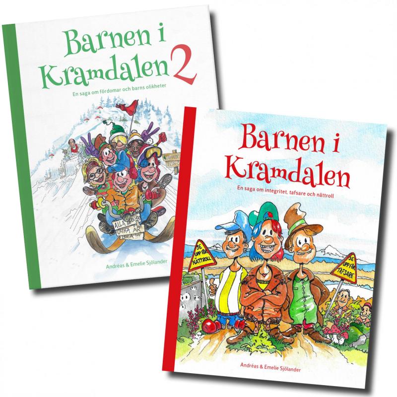 Barnen i Kramdalen 1 & 2 - Succéböckerna till paketpris!