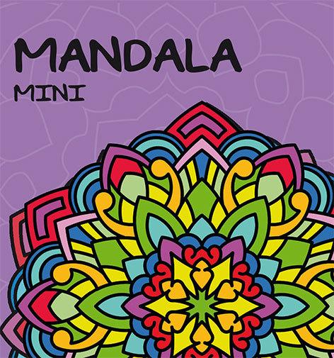 Mandala mini: lila