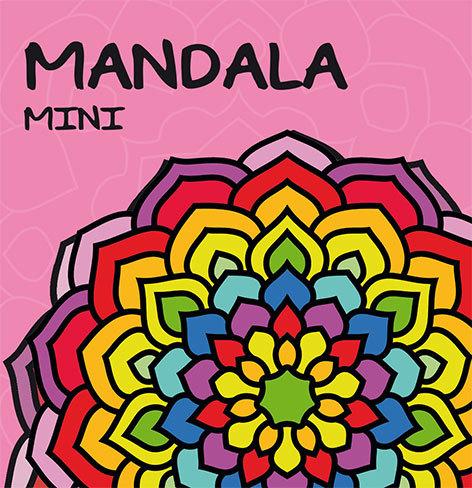 Mandala mini: rosa