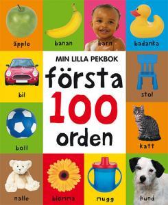 Min lilla pekbok: Första 100 orden