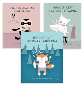Paketpris på böcker som gör familjebestyren enklare och roligare!