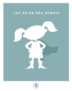 Poster - bra kompis (finns flera färger)