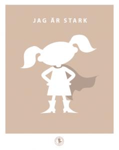 Poster - stark (finns i flera färger)