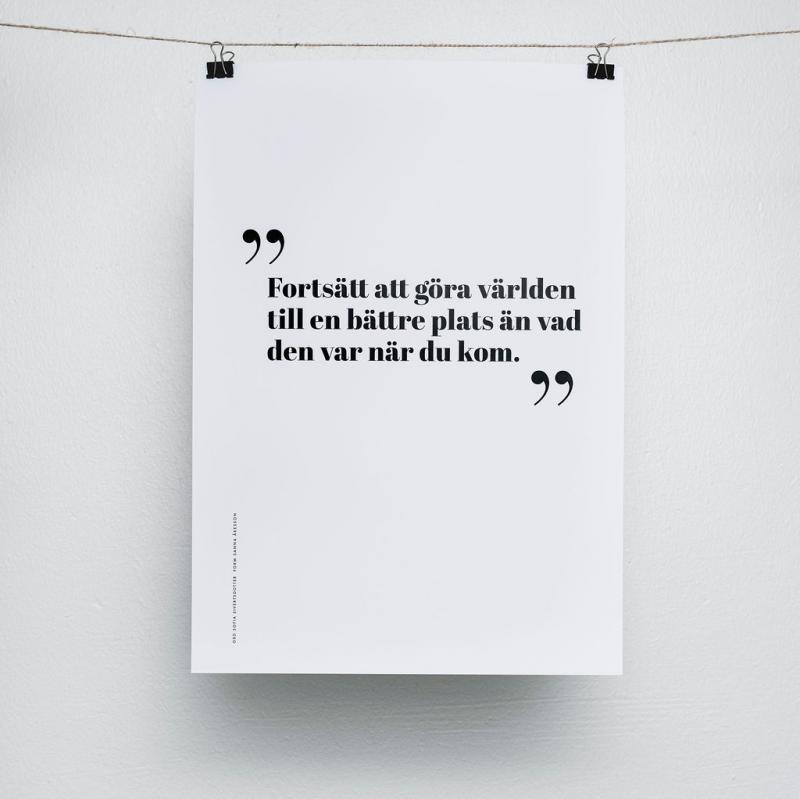 Poster - Fortsätt