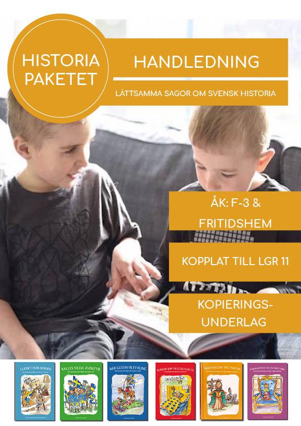 Lättsamma sagor om svensk historia - Skolhandledning