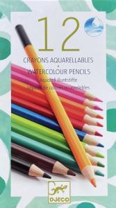 Vattenfärgskritor