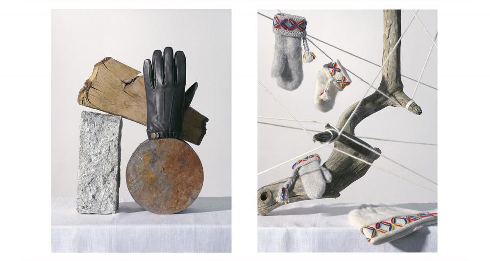 Dejting vintage handskar