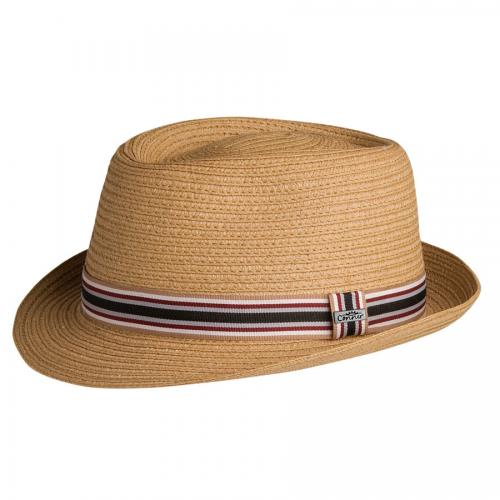 5th Avenue Straw Pork Pie Hatt herr