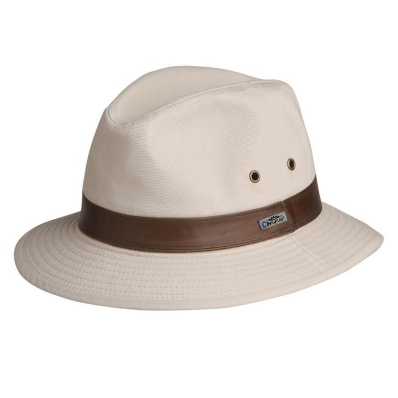 Larimar Cotton Safari Hat Men