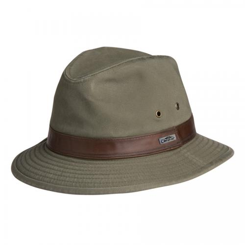 Larimar Cotton Safari Hat Men